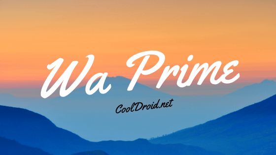 WA Prime (Hidden Features Unlocked)