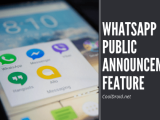 WhatsApp Public Announcement Feature : What it is and how to get it NOW!