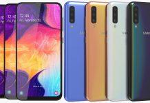 The Samsung Galaxy A50