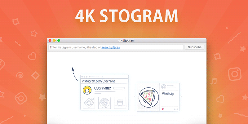 4K Stogram search engine