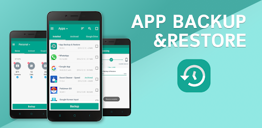 App Backup & Restore available on mobile