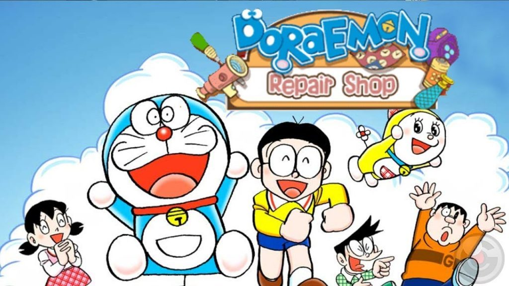 Doraemon Repair Shop banner
