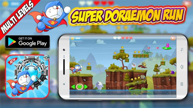 Super Adventure of Doraemon Run Game Available on Playstore