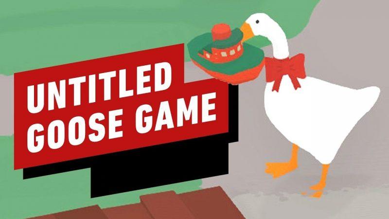 Untitled Goose Game Banner