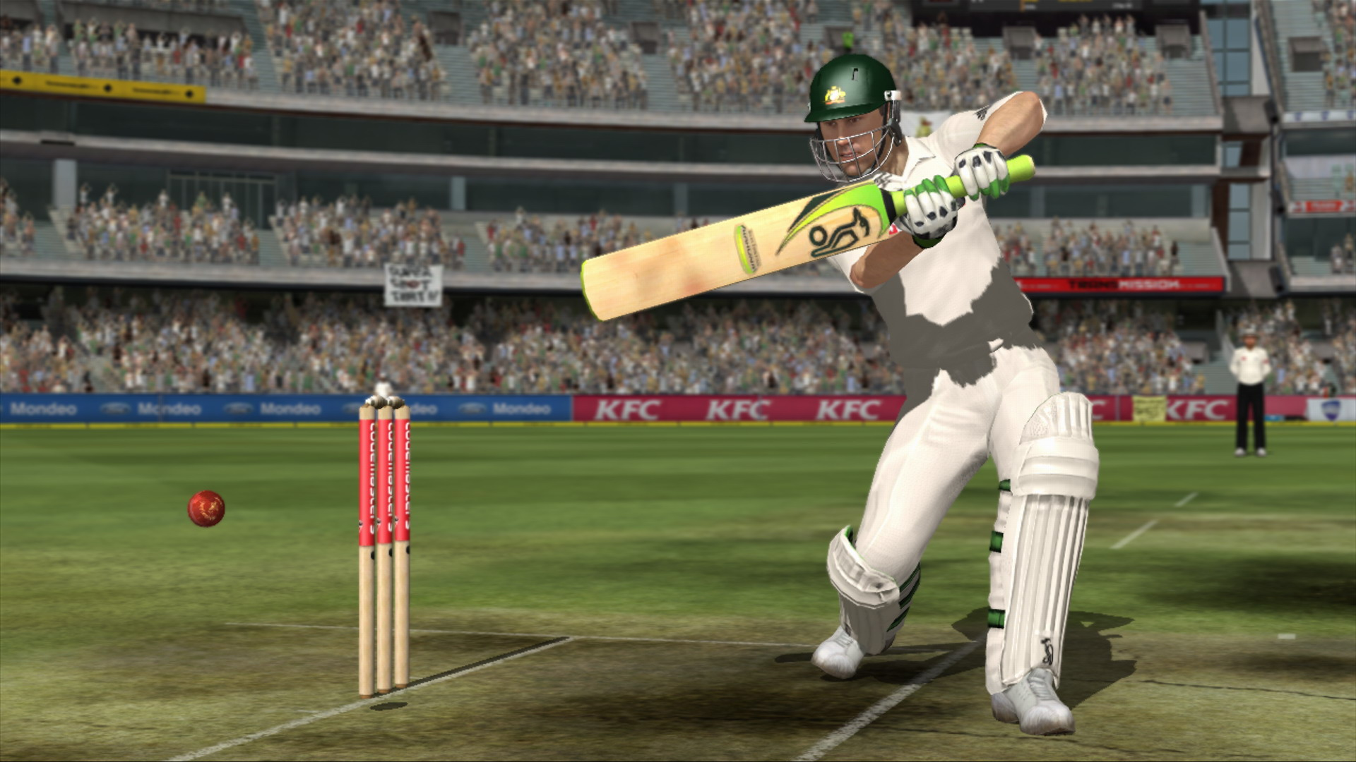 The Ashes Game Screenshot