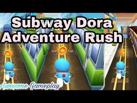 Subway Dora Adventure Rush – Doraemon Game-play