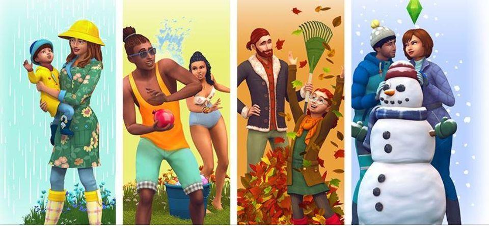 Sims 4: Seasons