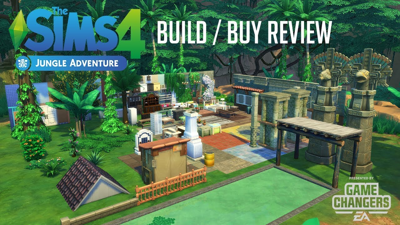 Sims 4 Buy/Build